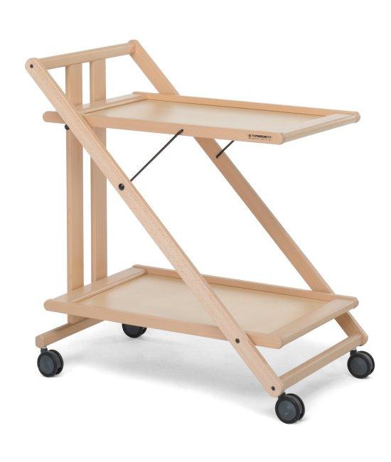 Сервировочный столик Sprint Foppapedretti натурале-1