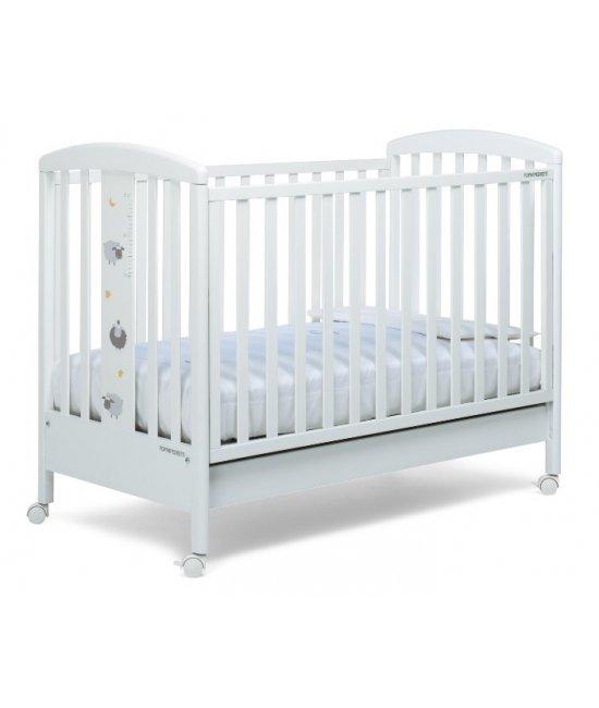 Деревянная детская кроватка Pekos (bianco)