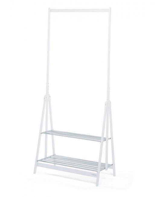 Уникальная вешалка Stand-up белый-алюминий-1
