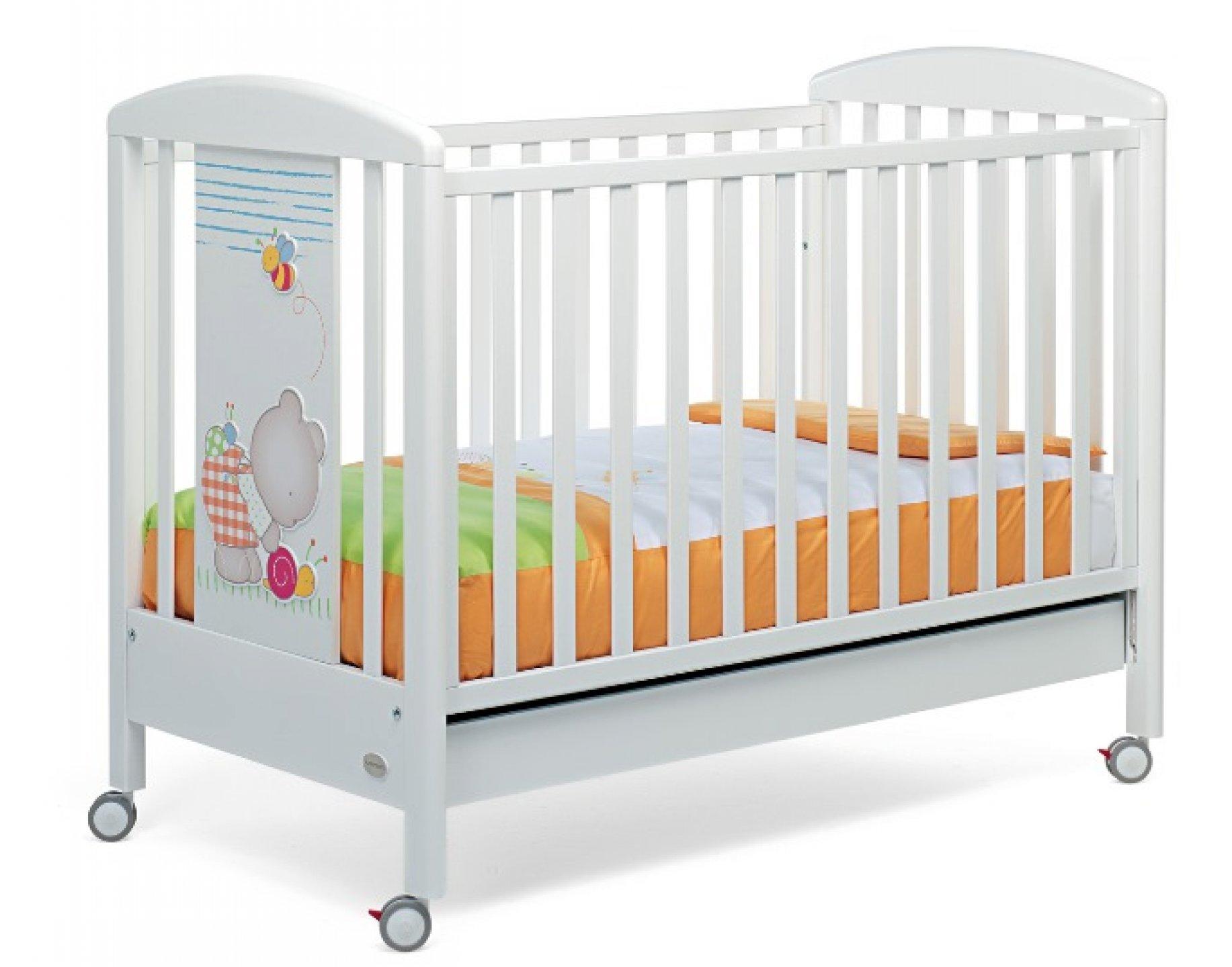Деревянная детская кроватка Teneri incontri 500 -1