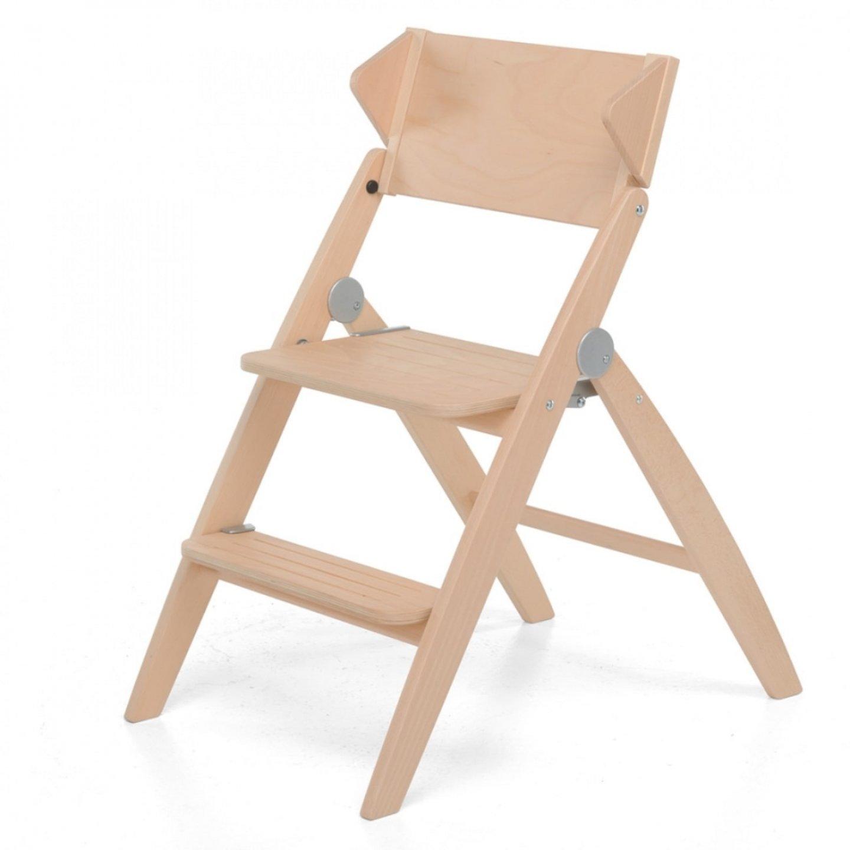 Деревянный стул-стремянка StepByStep натурале-1
