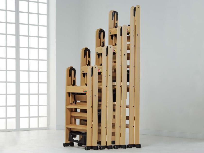 Итальянская деревянная стремянка (лестница) Ла Скала от Foppapedretti
