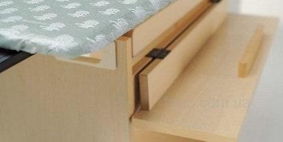 Удобная полочка гладильной доски