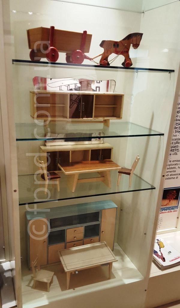 первые деревянные игрушки Foppapedretti