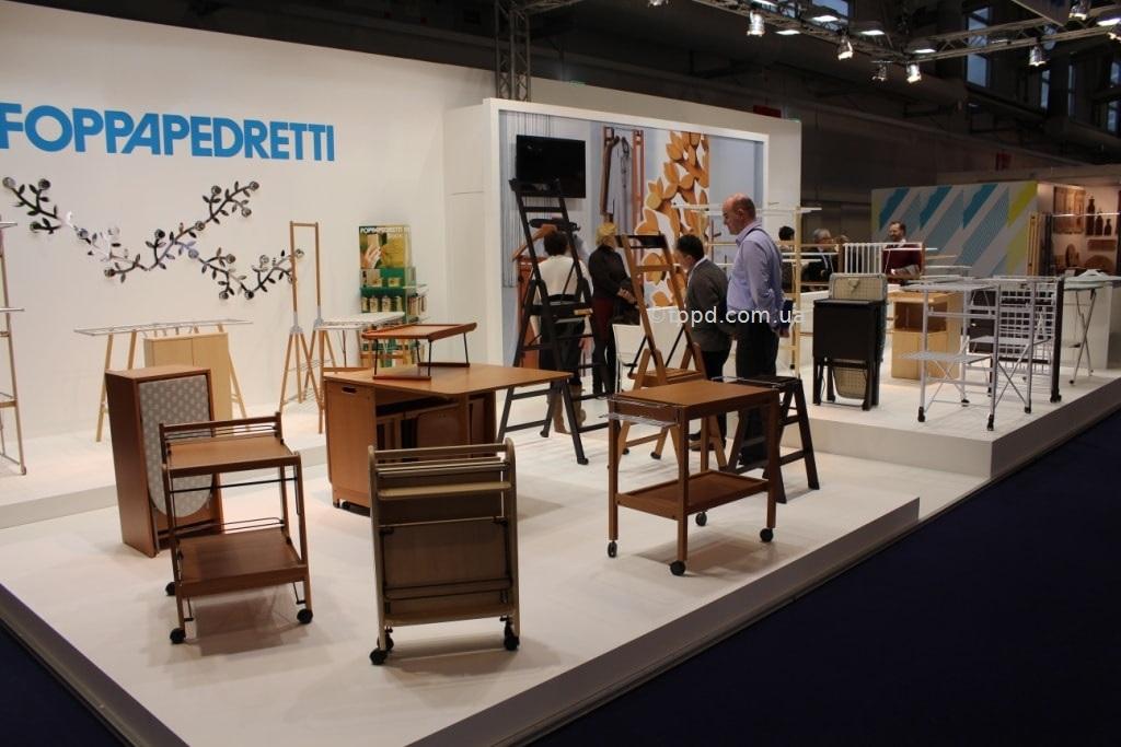 Экспозиция Foppapedretti на выставке товаров для дома Ambiente Frankfurt 2015