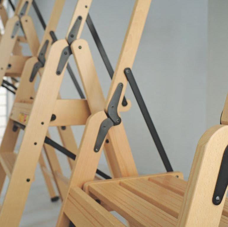 Стремянки-трансформеры из  дерева бук. Итальянские товары для дома Foppapedretti