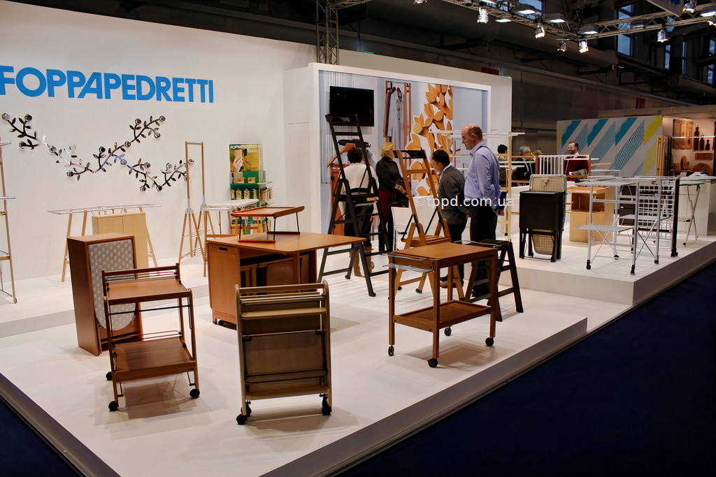 Выставочные образцы итальянской деревянной мебели FOPPAPEDRETTI
